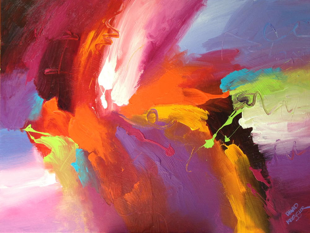 abstract paintings david m kessler fine art