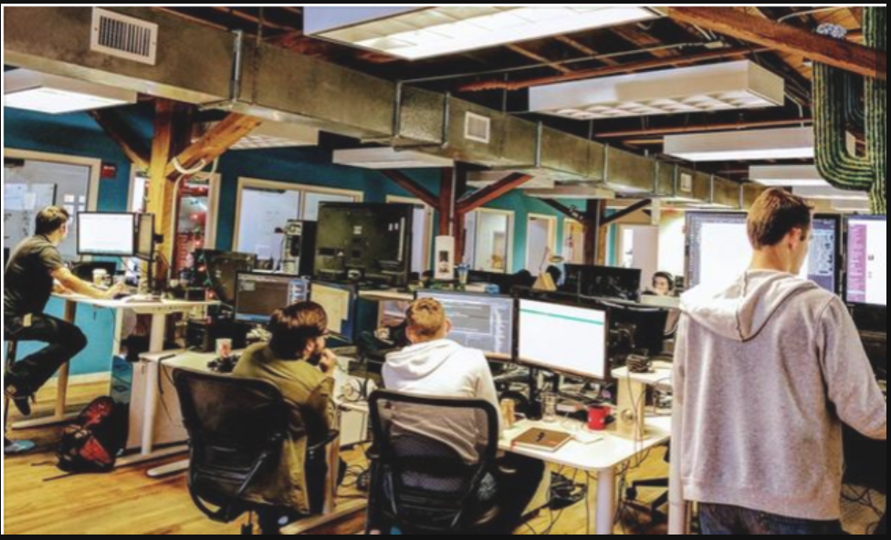 2017 Coolest Office Spaces: UniKey Technologies Inc.