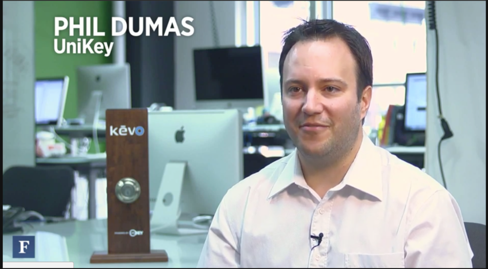 Kevo Lets You Unlock Your Front Door with an iPhone