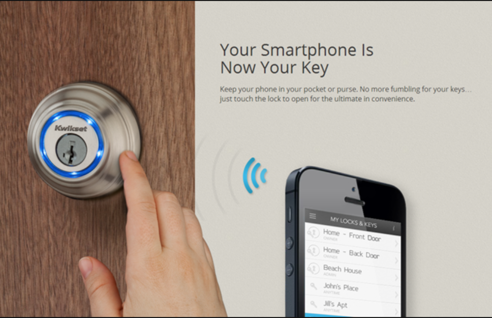 The Kwikset Kevo Bluetooth-Enabled Door Lock Is Available For Pre-Order Today, Unlocks In September