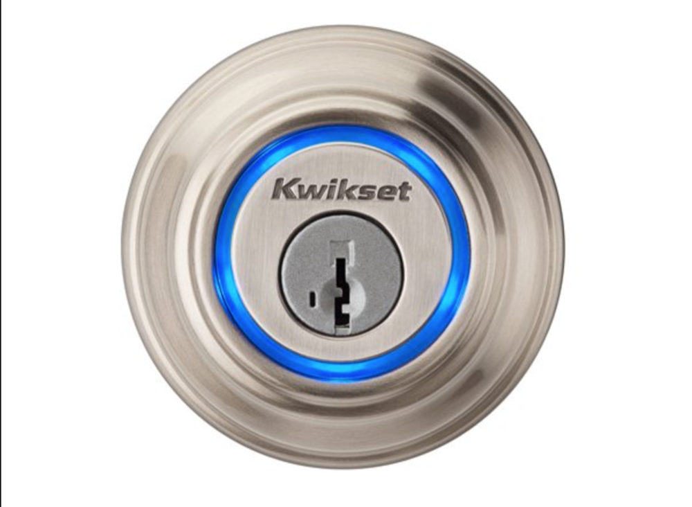 The Kwikset Kevo lock opens at your touch