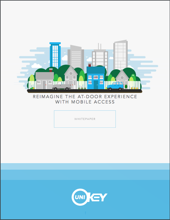 Copy of Reimagine the At-Door Experience with Mobile Access