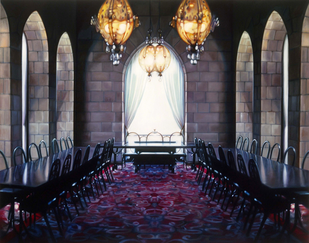 "Cathedral    Oil on panel  38"" x 48""  2005"
