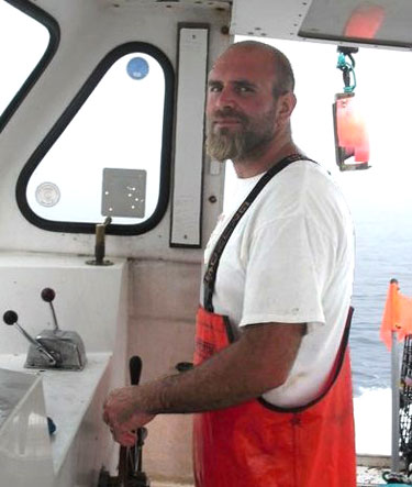 Nick Muto, Commercial Fisherman, F/V Dawn T.