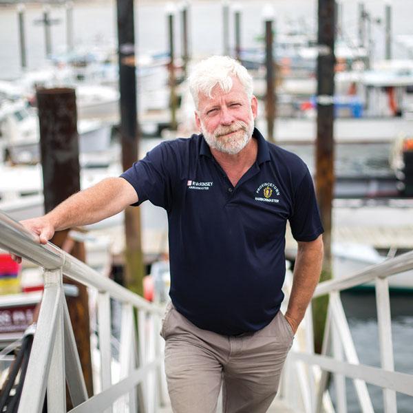 Rex McKinsey, Harbormaster, Provincetown