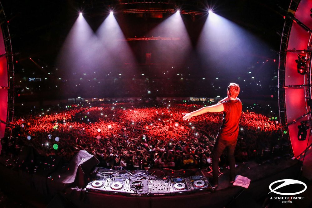 A State of Trance Festival, Mexico City.