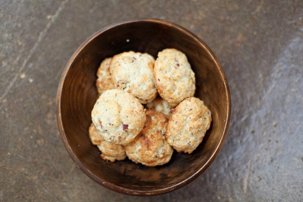 Pimento Cheese Biscuits   Kitchen SIx Oak Grove Atlanta Ga Restaurant Brunch