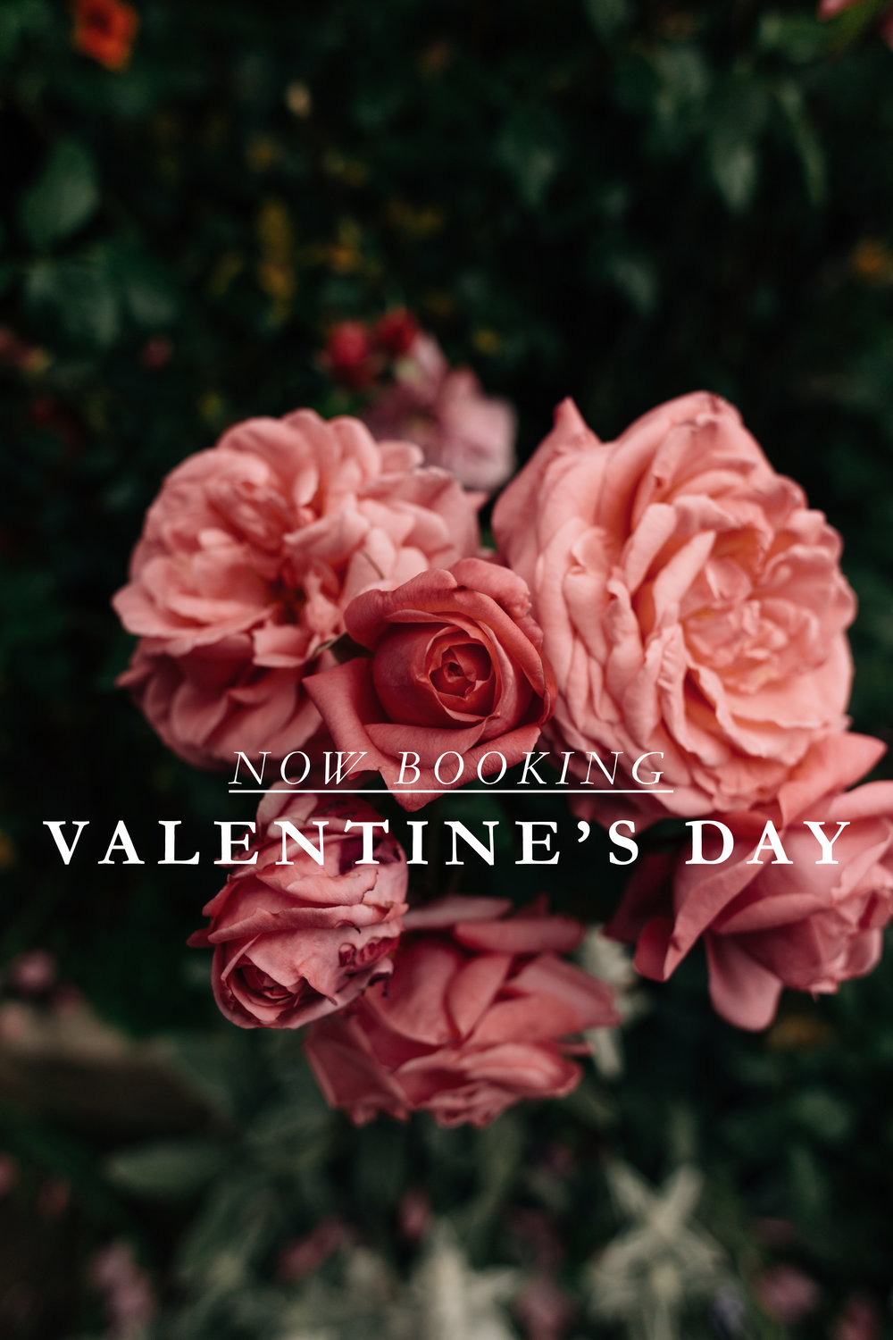 2019 VALENTINE'S DAY RESERVATIONS AT KITCHEN SIX