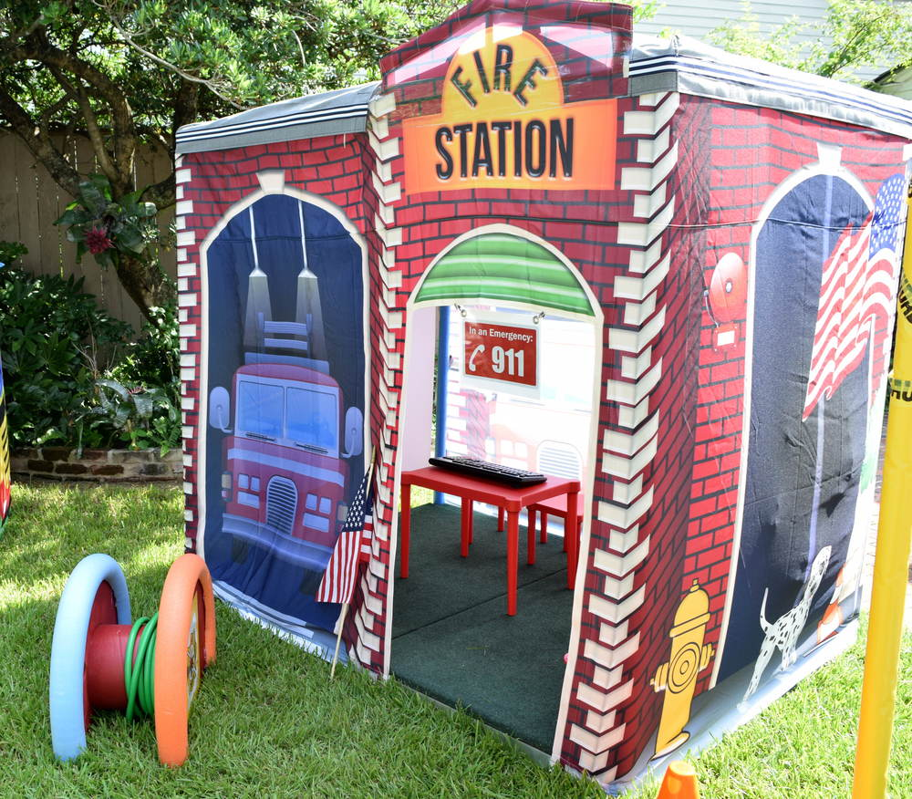 fire station exterior 2.JPG  sc 1 st  Pop Up Party Town & Pop Up Party Town - Fire Station Tent