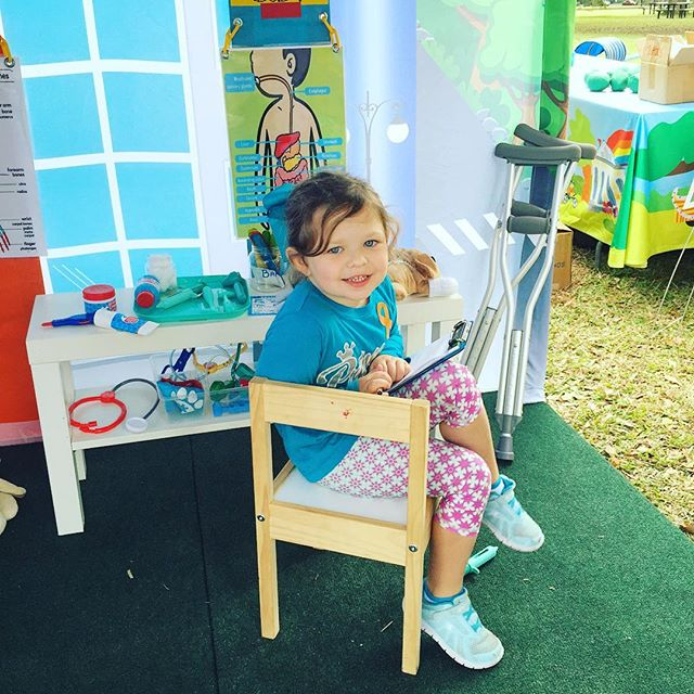 Learn to care for your friends and pets in the hospital tent! #popuppartytown #nolaliving  #nolakids