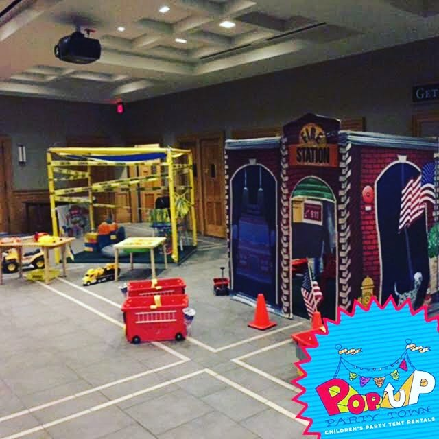 Too hot outside? Beat the heat with an indoor Pop Up Party Town! We can set up out tents wherever you need. Don't let the heat get you down, call #popuppartytown!  #kidspartyideas #nolakids #summerfun