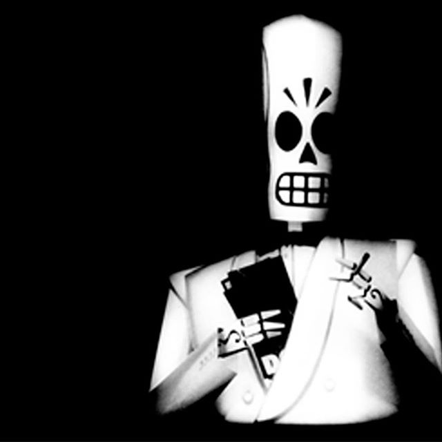 My scythe... I like to keep it where my heart used to be. #MannyCalavera #GrimFandango