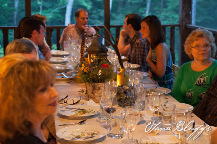 Utana Bluffs Social Dinner| Ellijay Georgia-14.jpg