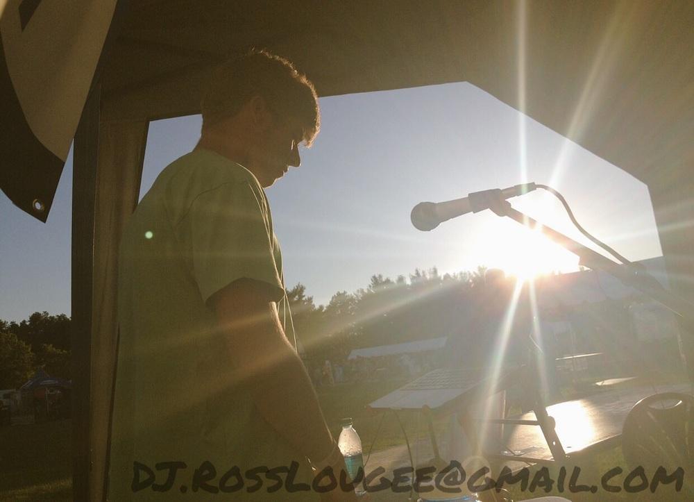 (DJ Ross at Rockin' Rib Fest 2015)