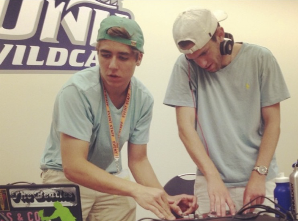(DJ Ross and Dirty Emmett at UNH 2014)
