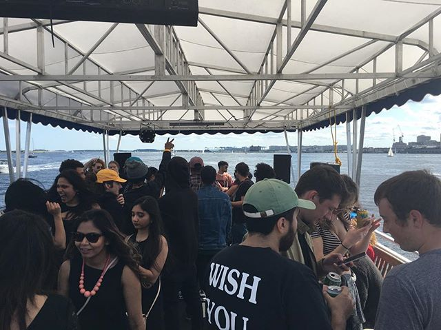 DIY boat cruise was a success! Shout out to @djhelebert