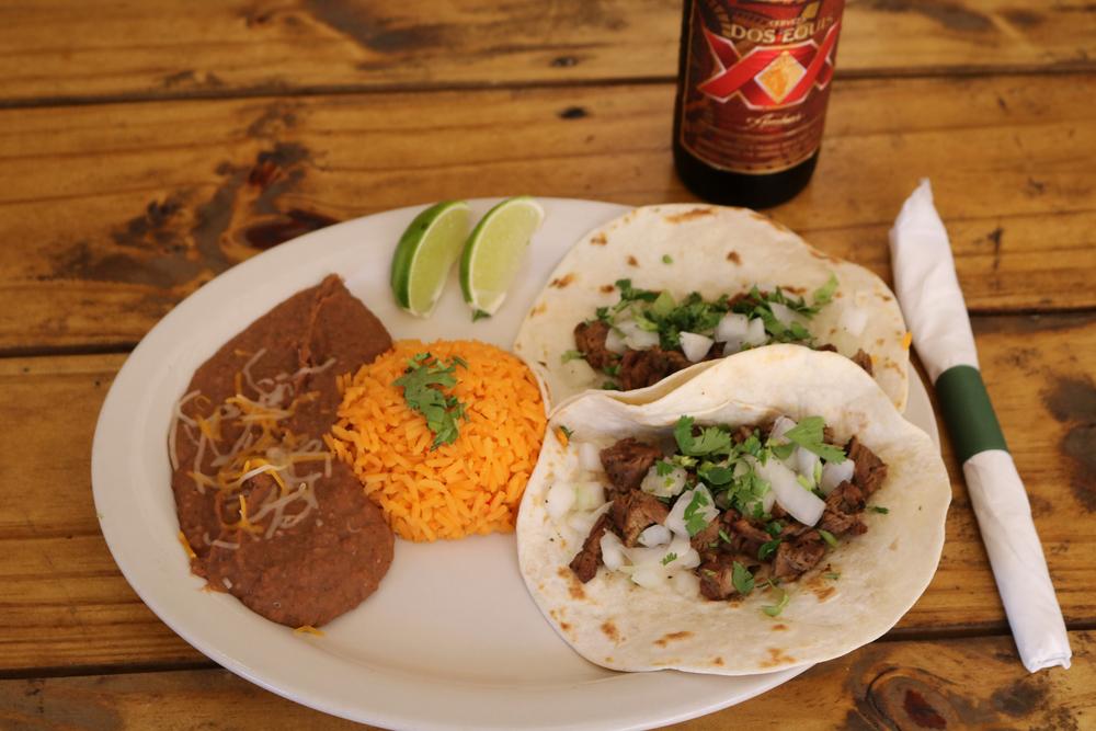 2 Taco Platter