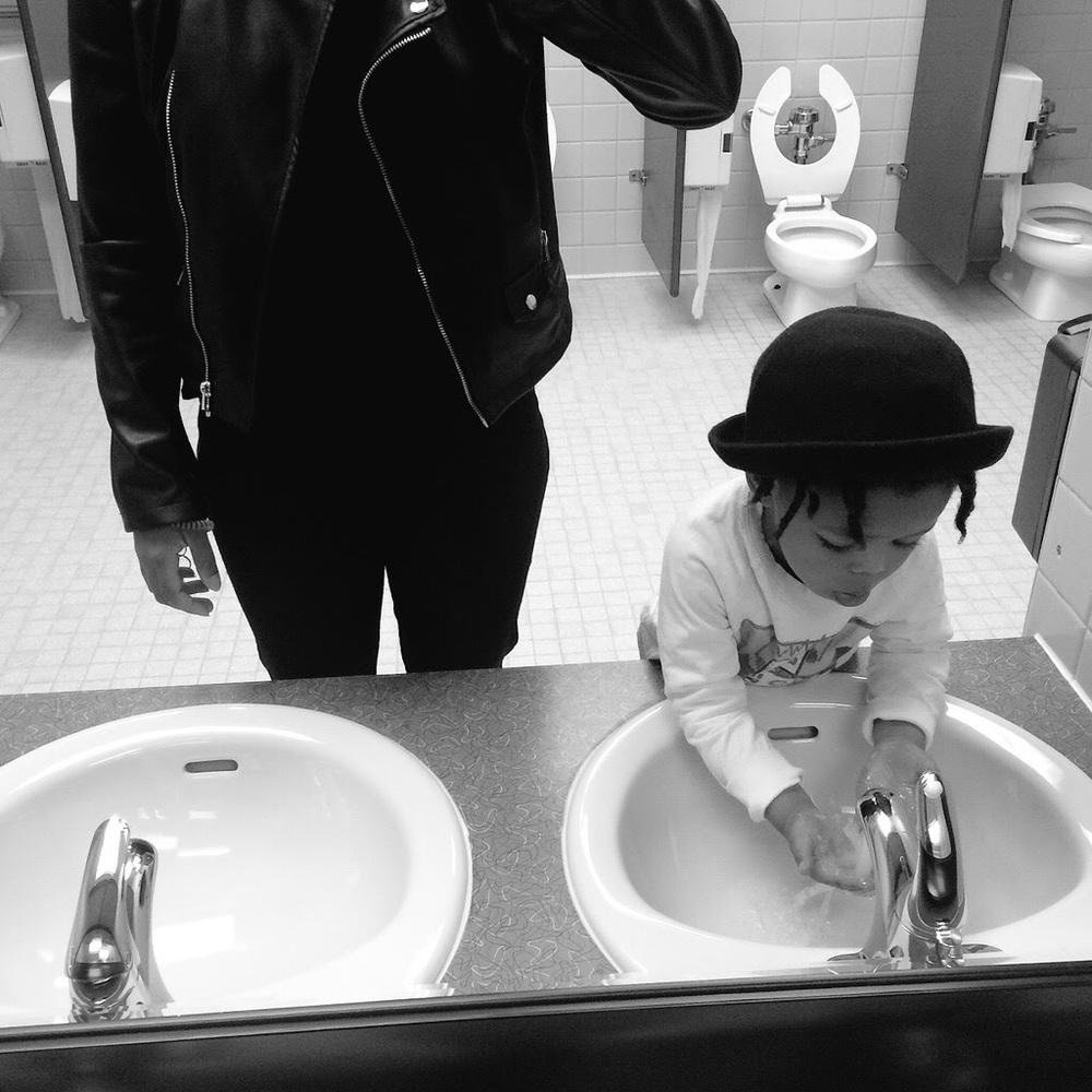 Peyton & I.