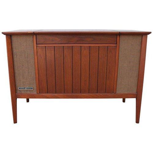 vintage mid century modern stereo console aymerick modern