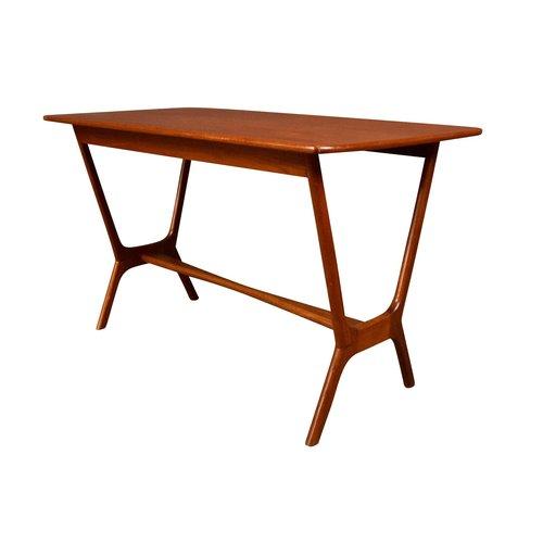 Vintage Danish Mid Century Modern Teak Side Table