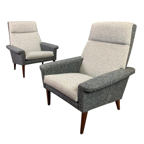Pair Of Vintage Danish Mid Century Modern Lounge Chairs Aymerick