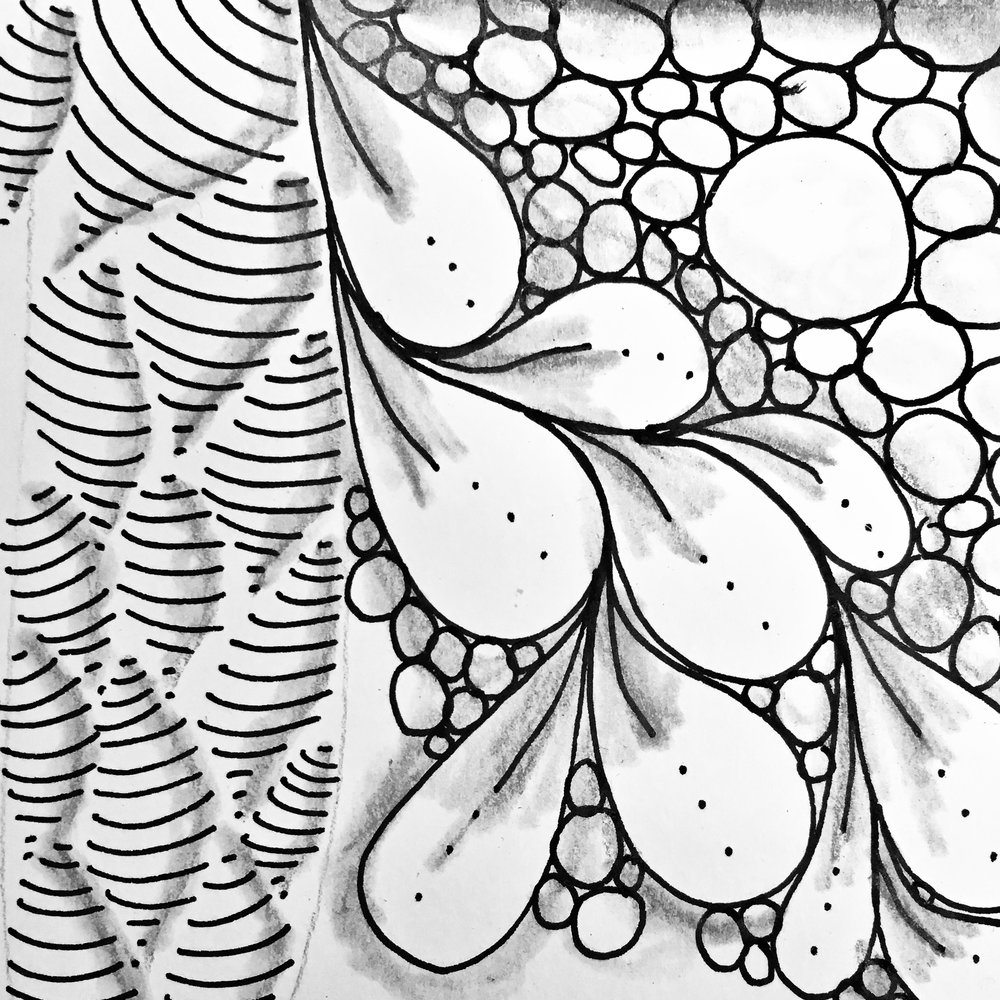 "Zentangle®️ Introduction Class - Learn the basics of the Zentangle method of art. This art form is relaxing and increases your creativity, and it has been used in stress management, can increase attention span, concentration, and fine motor skills. Plus, it's fun!Zentangle takes complicated patterns and breaks them down into manageable steps to create complex designs.You do not need to be an ""artist"" to enjoy Zentangle.If you can write I, C, S, & O, you can do it - really!!"