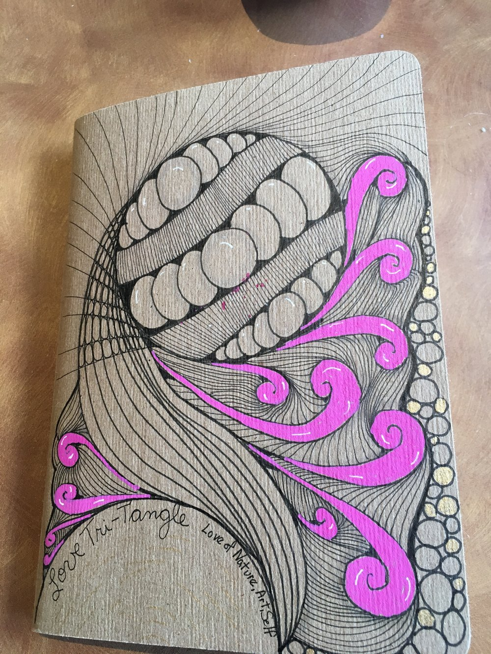 Purposeful Art Journaling - Learn to use the Zentangle Method of Art in your journey for less stress, more relaxation, self-expression, and meditation.This class meets 1 .5 hours/once a week/for 6 weeks and includes an art journal, pens, Zentangle instruction, a plan for your journey, and other supplies.Does not require the prerequisite Zentangle Introduction Workshop
