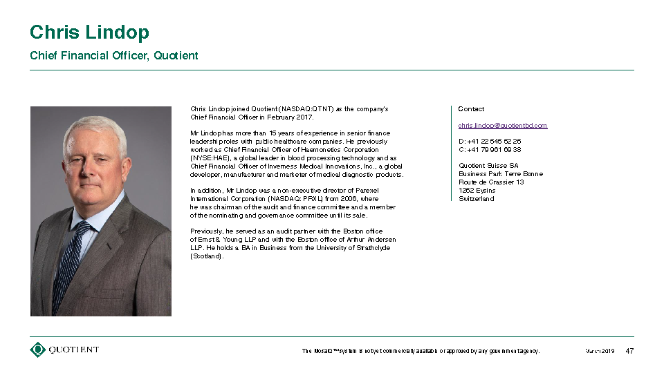 Quotient Limited (QTNT) Investor Day Presentation March 4, 2019_Page_47.png