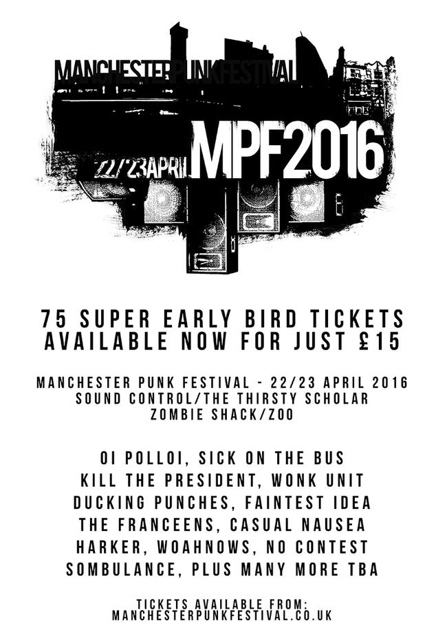 Manchester Punk Festival 2016