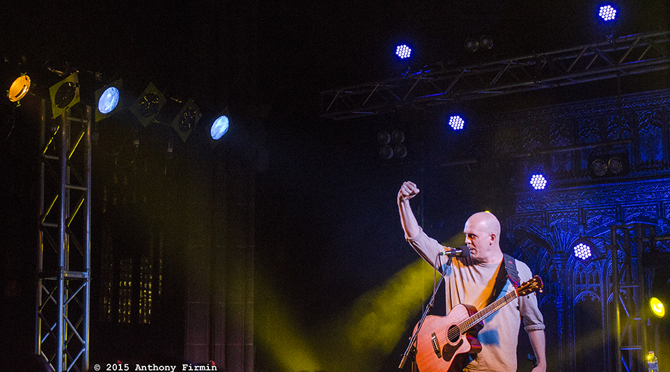 Devin Townsend, Acoustic, Manchester Cathedral, Manchester, 13/1