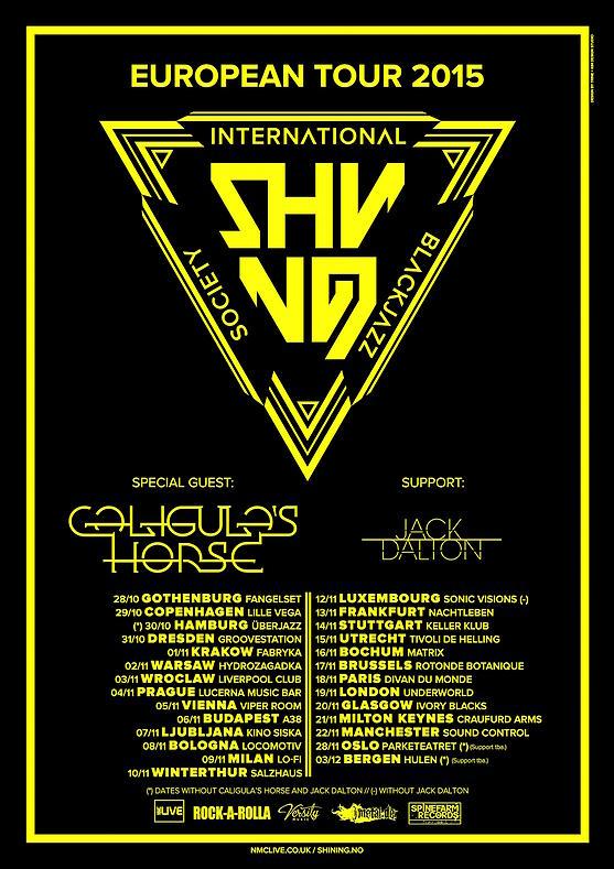 Shining UK Tour 2015