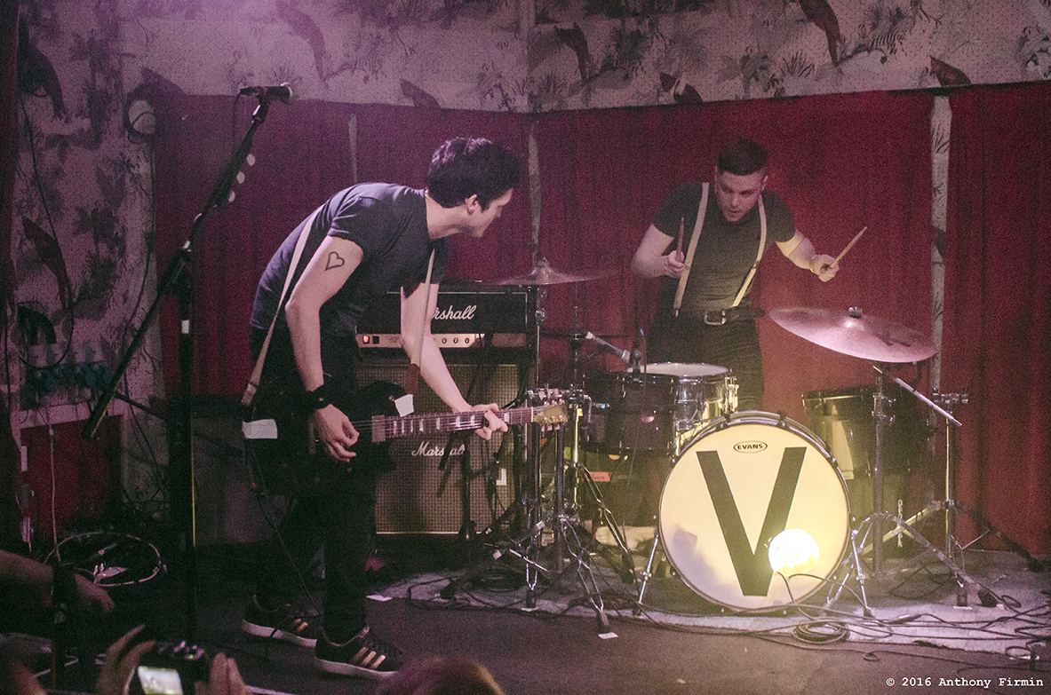 The Virginmarys, The Deaf Institute, Manchester, 8/5/16