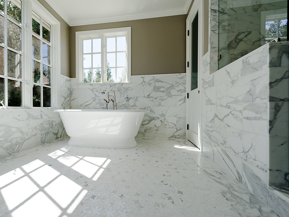 Bathroom Refinish — Young and Borlik Architects