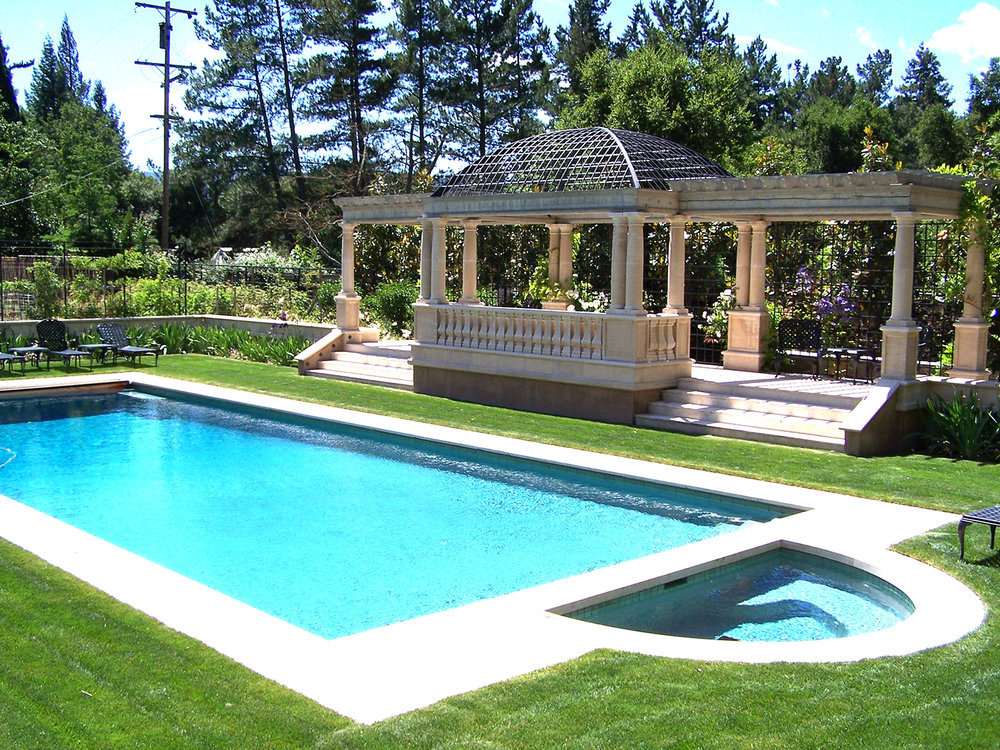 POOL ARBOR AND GUEST HOUSE