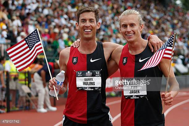 Dan and Evan at 2015 US Championships where they went 1-3 in the 3000m Steeplechase to qualify for World Championships in Beijing, China.