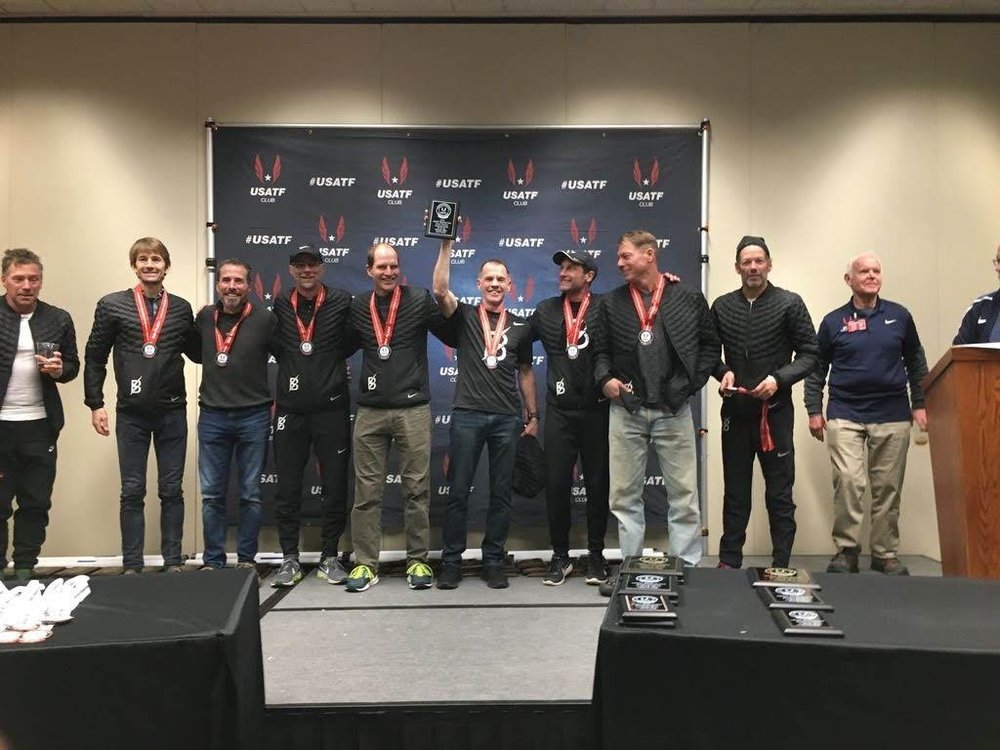 2018 XC Club Nationals 50's Team