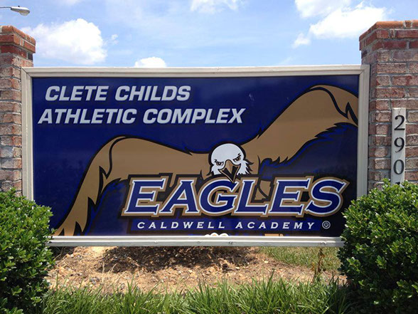 caldwell academy athletic sign.jpg