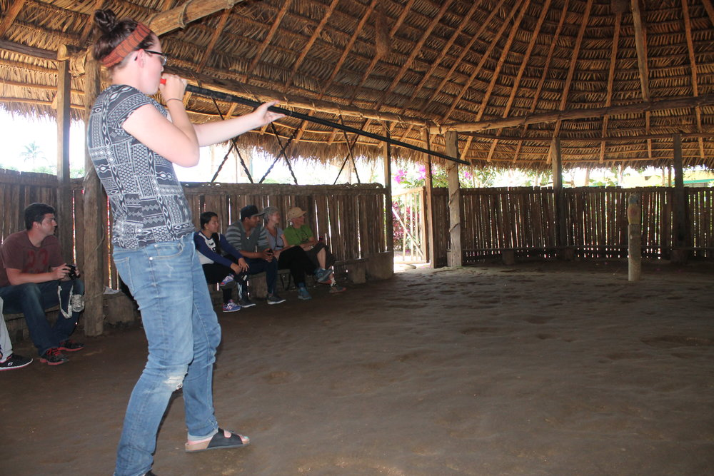Shoot a blow dart in an indigenous Ecuadorian village as an Orphanage Support volunteer.jpg