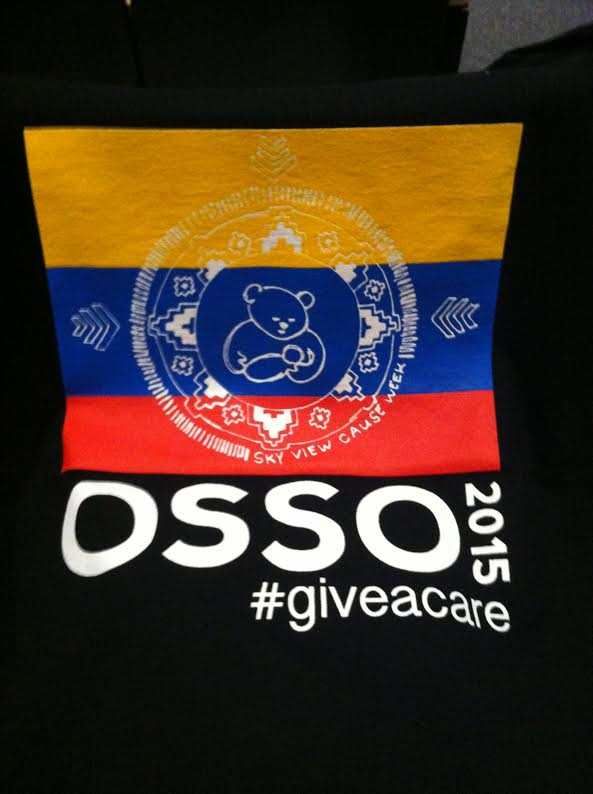 T-shirts for OSSO fundraiser