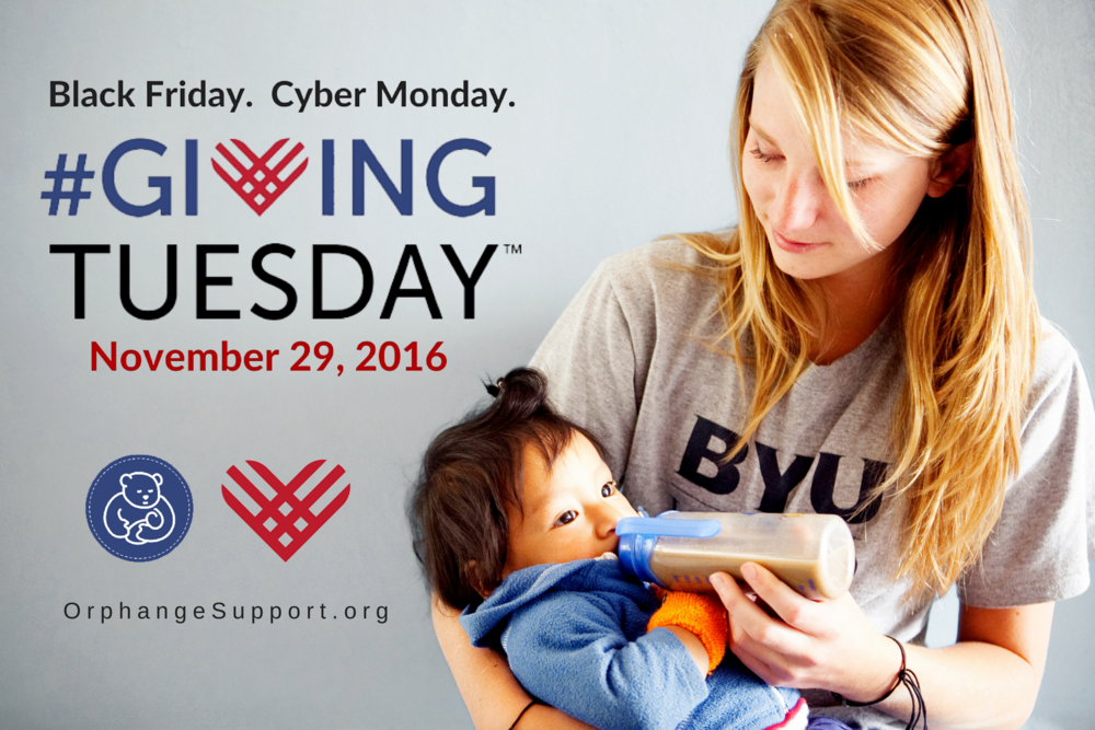 Share this image to encourage others to donate to OSSO for Giving Tuesday.