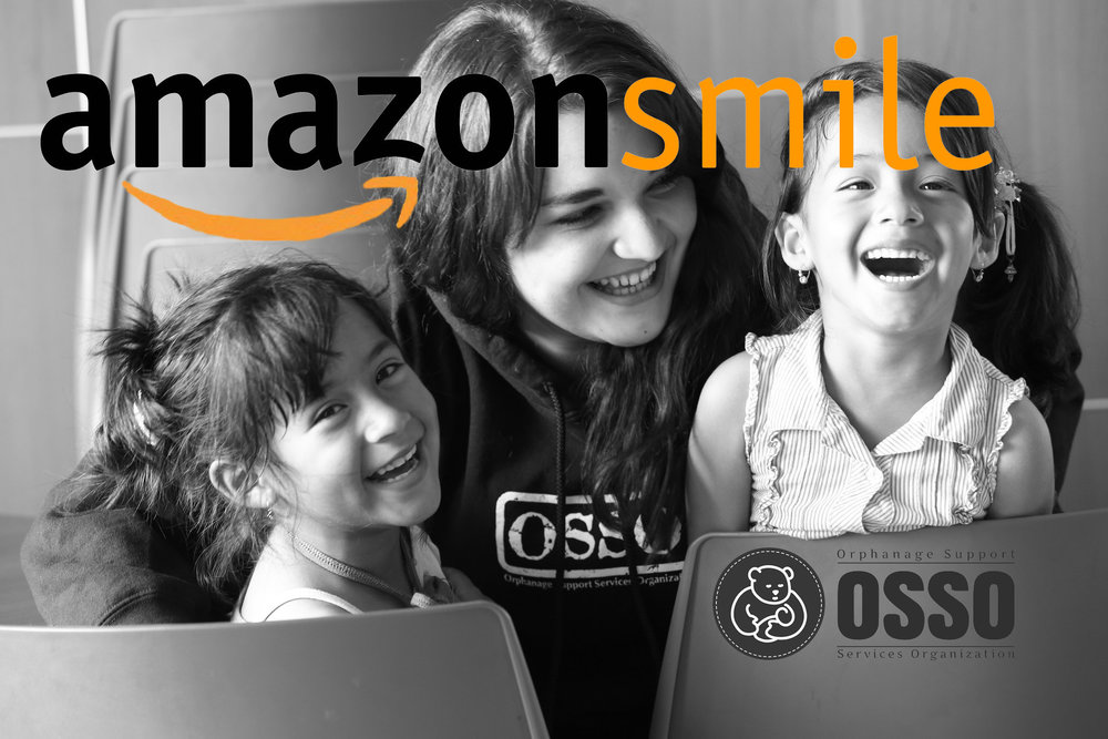 Amazon Smile donate to OSSO