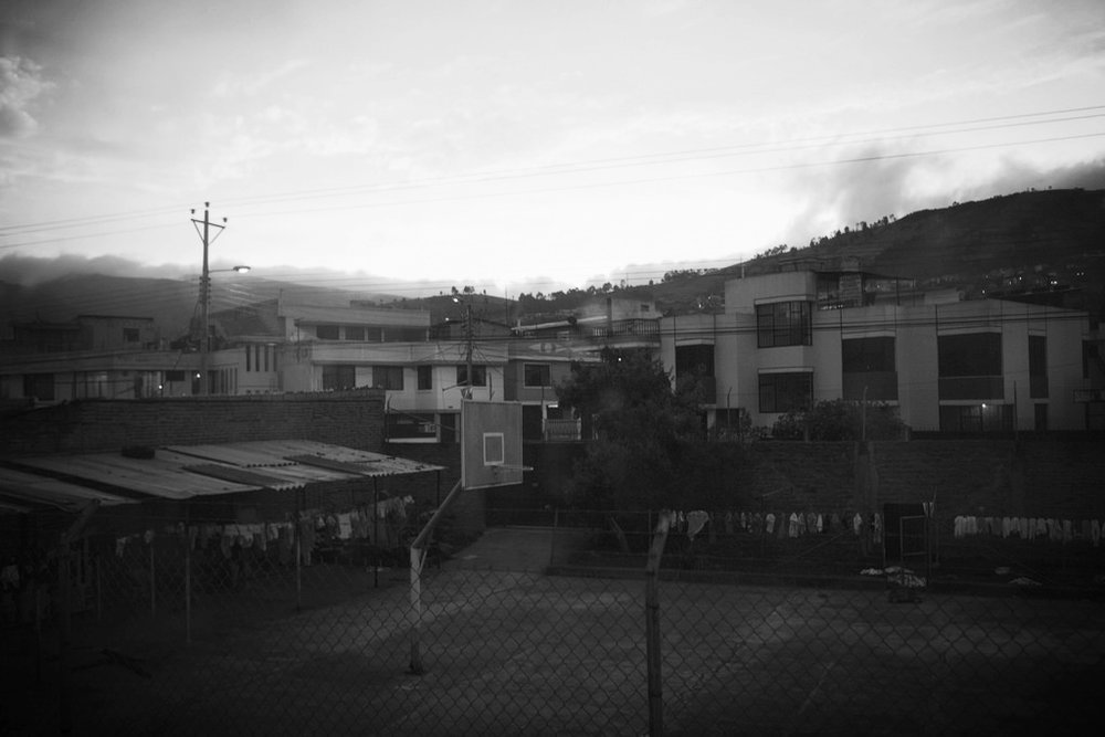 Girls' orphanage in Ecuador