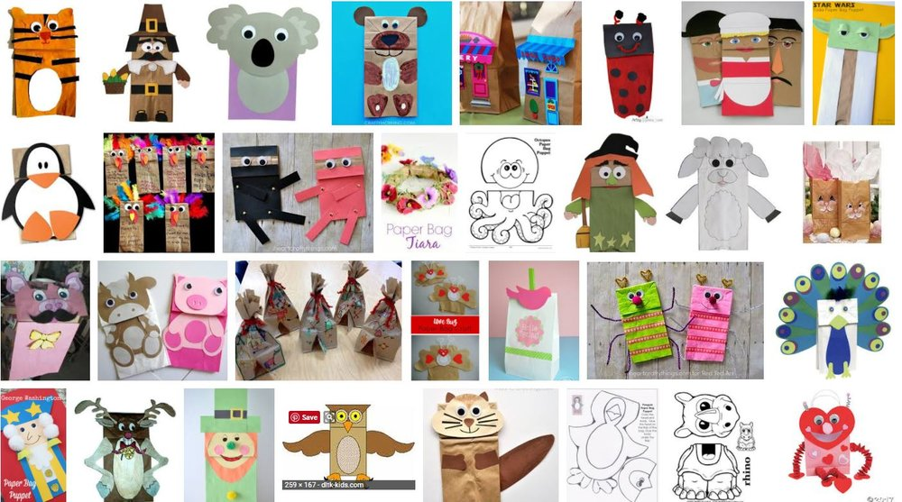 Paper bag crafts.JPG