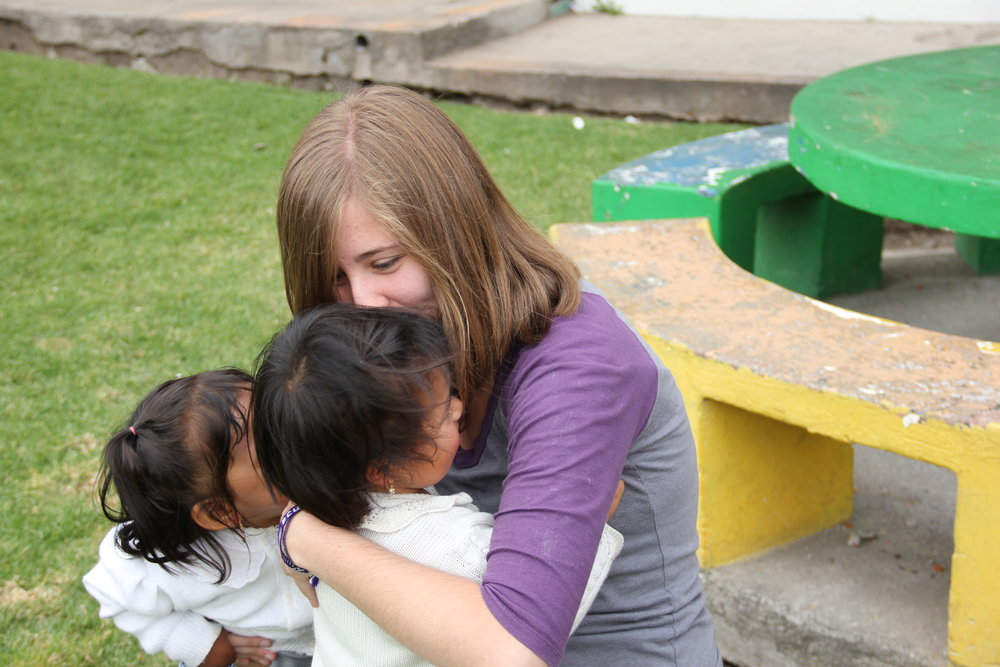 Volunteer with orphans in Ecuador
