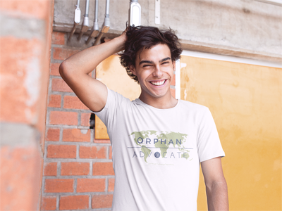 Orphan Advocate T-shirts support orphans