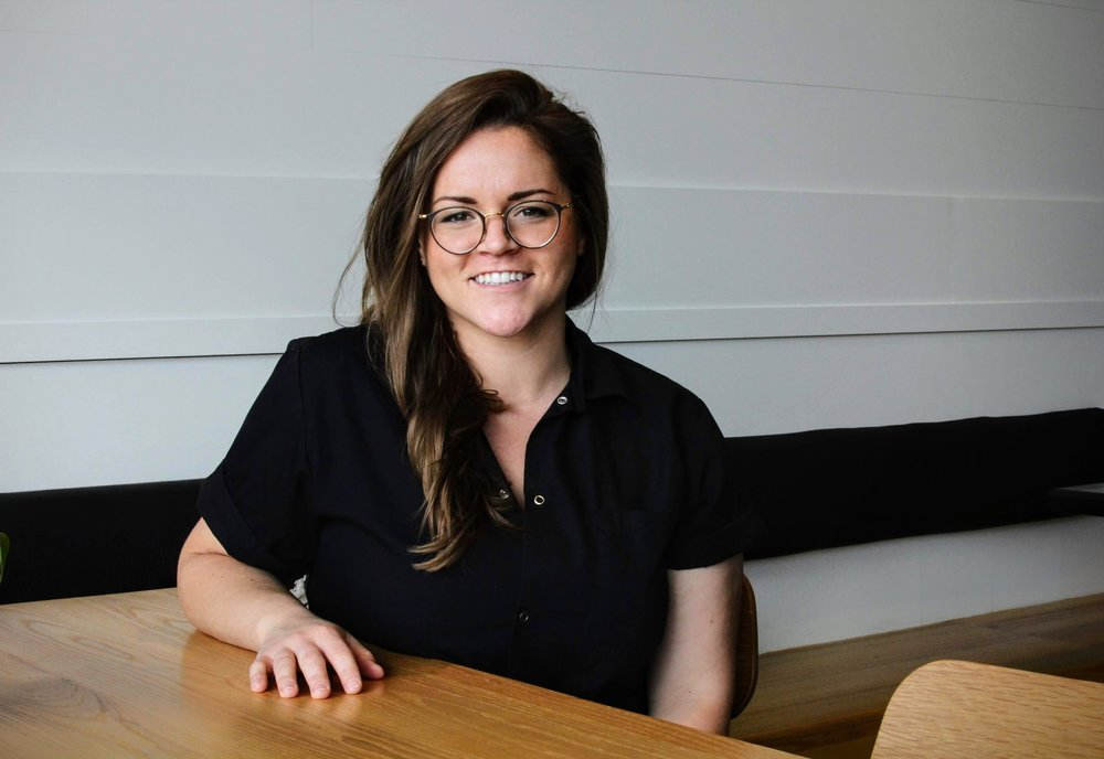 Katie Aukerman, Front of House Manager at Little Eater