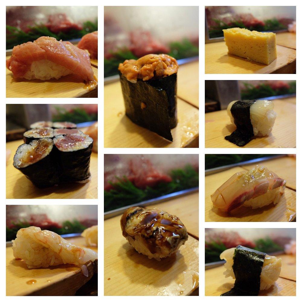 Omakase at Daiwa Sushi at 5:30AM