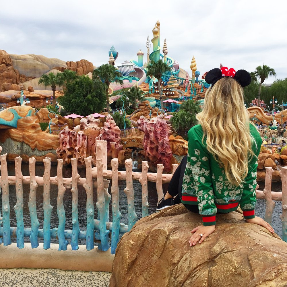 Mermaid goals at Disney Sea