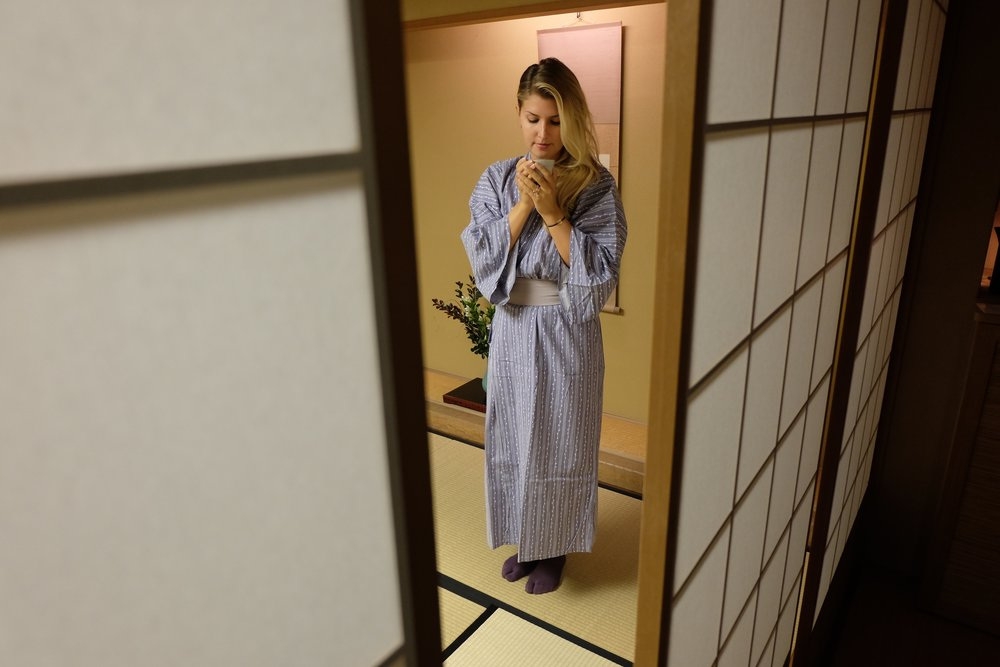 Experiencing a night in a traditional ryokan at Gora Kadan