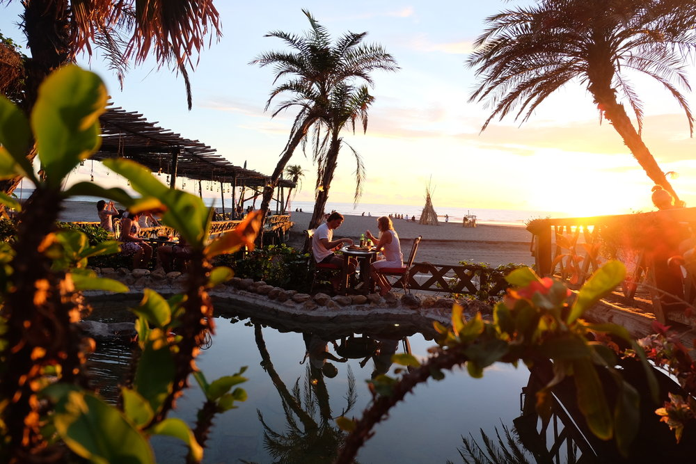 Sunsetting at La Laguna